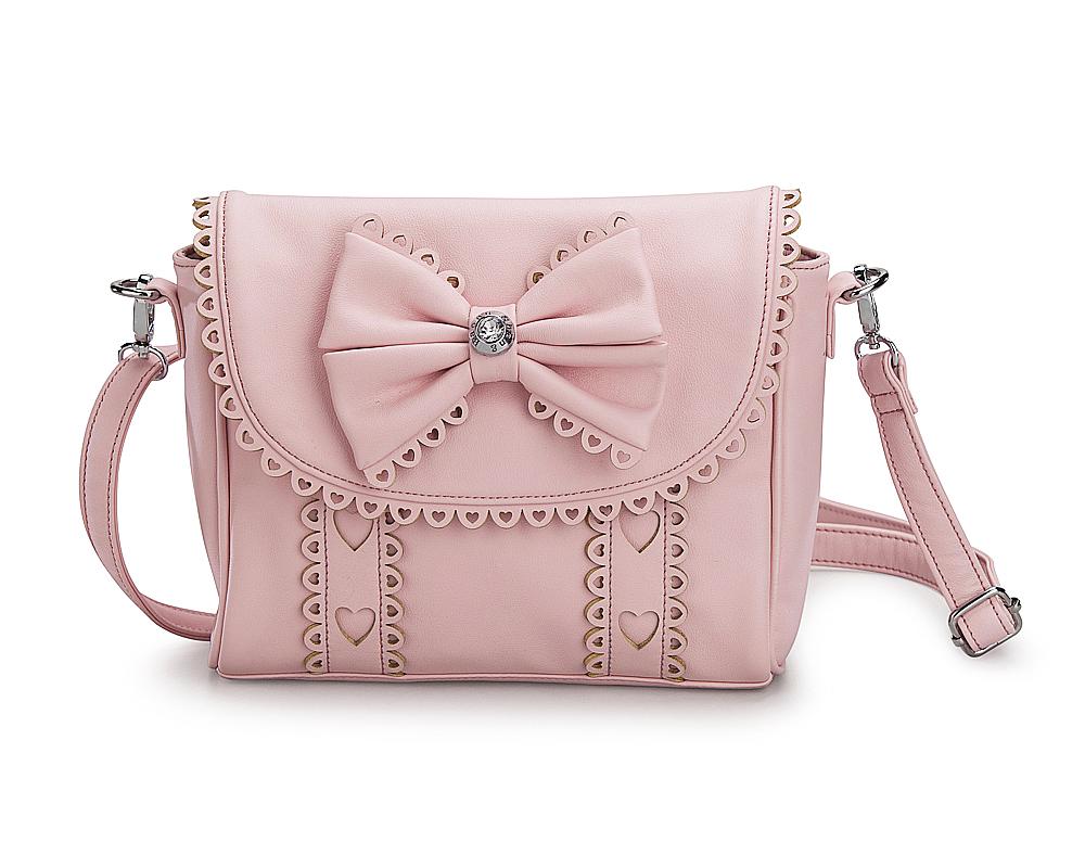 Сумочка для девочек KB018 розовый KING BOOTS