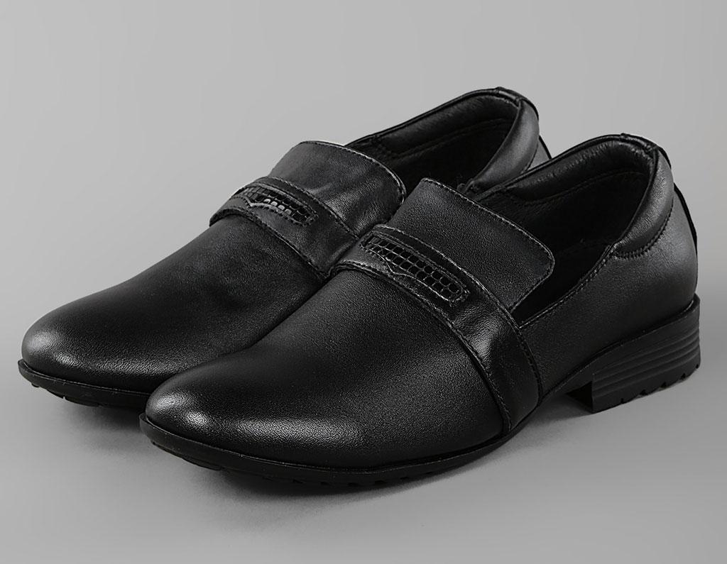 Обувь детская Туфли школьные для мальчика KB180 KING BOOTS