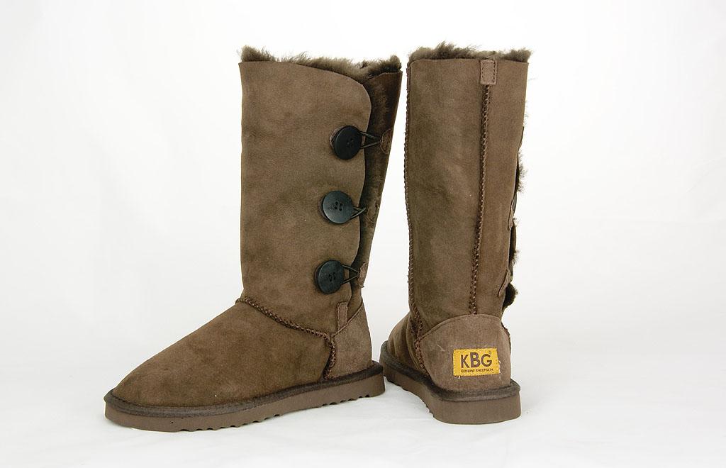 Сапоги зимние женские 1873Chocolate KING BOOTS
